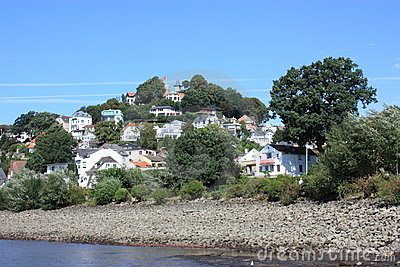Hamburg Blankenese Hill Germany