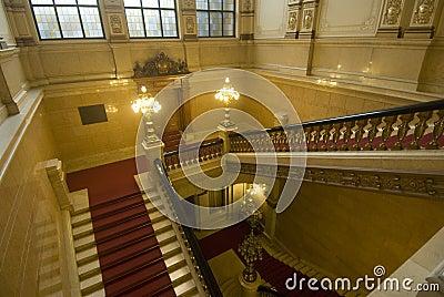 The Hamburg city hall, Germany