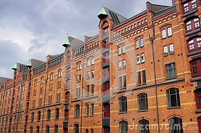 Hamburg city of warehouses