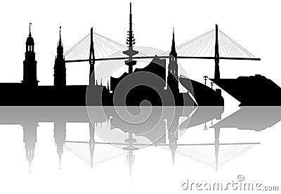 Hamburg skyline