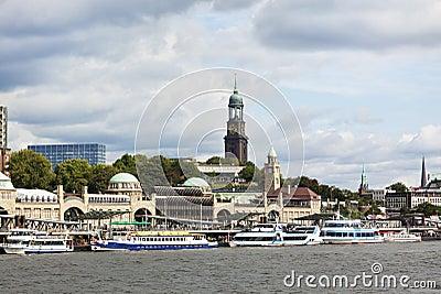 Hamburg, St. Pauli Landing Stages
