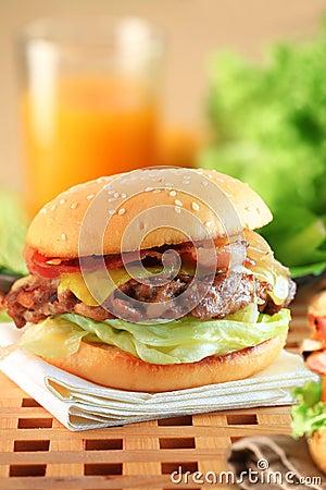Free Hamburger Stock Photo - 24484240