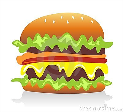 Free Hamburger Royalty Free Stock Image - 3710226