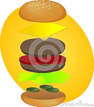 Hamburger breakdown