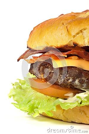 Hamburger detail