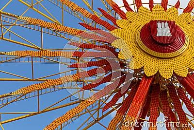 Hamburger Dom Ferris wheel
