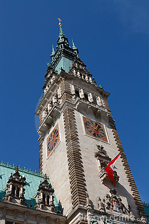 Hamburger Rathaus (Hamburg City Hall / Town Hall)