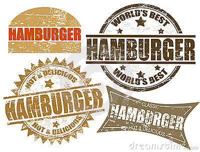 Hamburger stamp