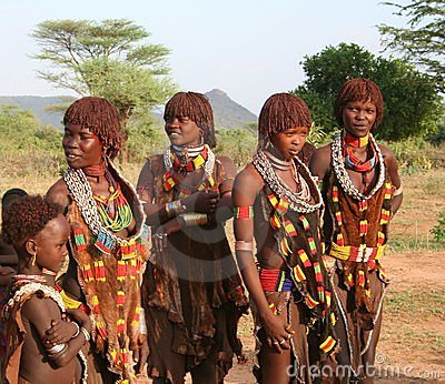 Hamer People of Ethiopia Editorial Image