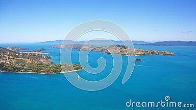 Hamilton Island Aerial Whitsundays Landscape