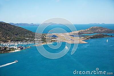 Hamilton Island Airport Runway