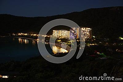 Hamilton Island by night