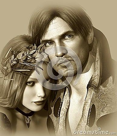 Free Hamlet And Ophelia Stock Photos - 28701273