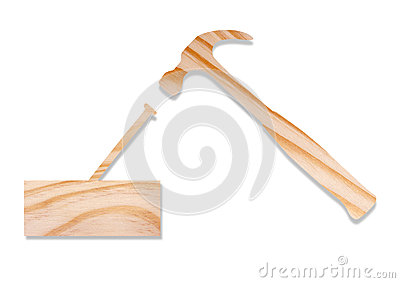 Hammer concept in wood