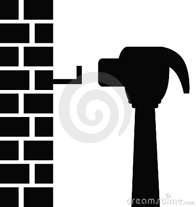 Hammer Hitting Nail