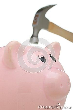 Hammer and Piggy Bank