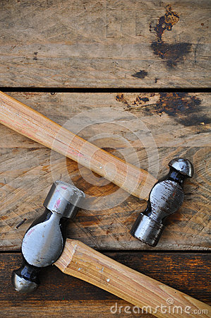 Free Hammer Set Of Hand Tools Or Basic Tools On Wooden Background Royalty Free Stock Photography - 51096347