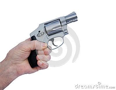 Hammer-less stainless pistol