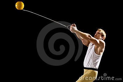 Hammer Throw Stock Photos - Image: 23372943