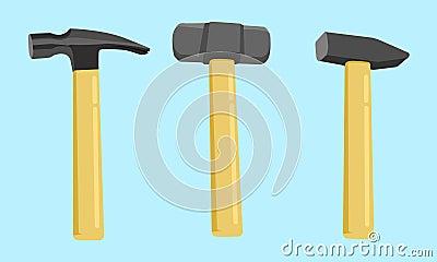 Hammer Icon Vector Illustration Vector Illustration