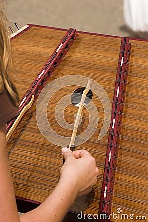 Free Hammered Dulcimer Stock Image - 3136821