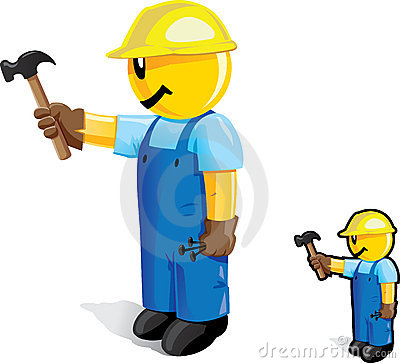 Hammering dude