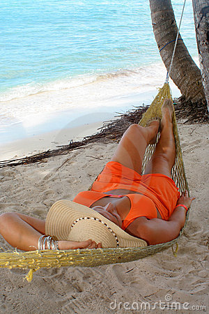 Hammock beach woman