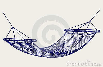 Hammock. Suspension device for the rest