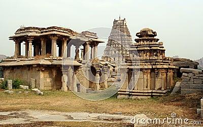Hampi ancient temples
