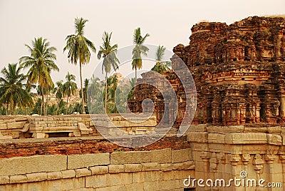 Hampi ruins, Karnataka, India