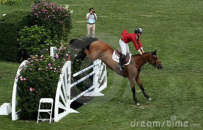 Hampton Classic Horse Show Editorial Stock Image