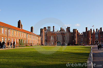 Hampton Court Palace Editorial Photography