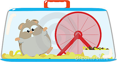 Hamster Cage Clipart