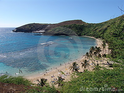 Hanauma Bay on Hawaii