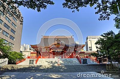 Hanazono Shrine, Shinjuku, Tokyo, Japan