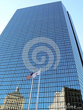 Free Hancock Tower, Boston, MA Stock Photos - 1664573