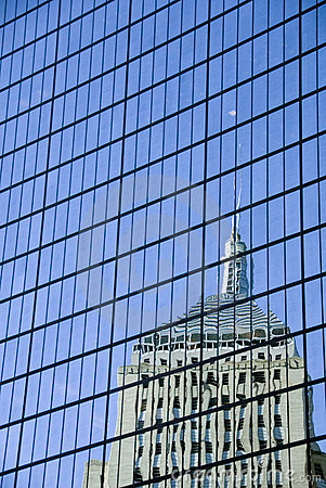 Free Hancock Tower Reflection Royalty Free Stock Photography - 1844487