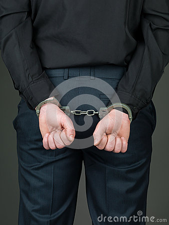 Free Hancuffed Individual Palmes Closed Stock Images - 31953514