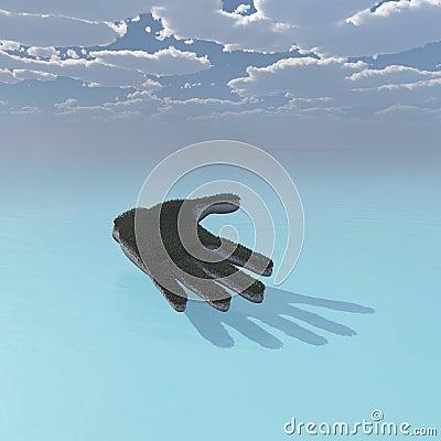 Hand across the ocean