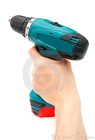 Free Hand And Drill Stock Images - 9565024