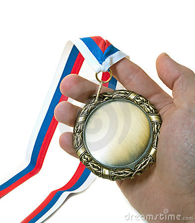 Free Hand And Medal Stock Images - 3980874