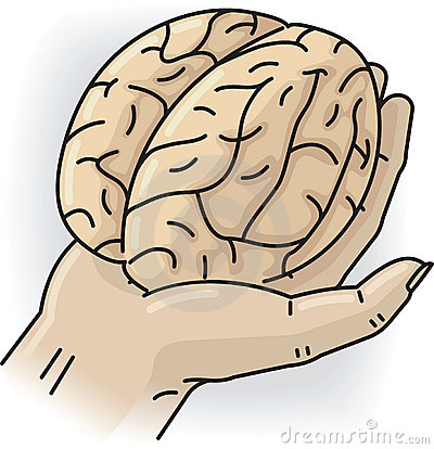 Hand with brain