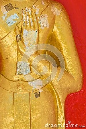 Hand of Buddha Statue