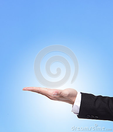 Hand Of Business Man Close Up Royalty Free Stock Photo - Image: 28327955