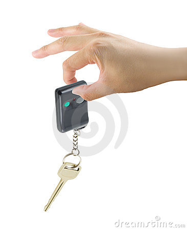 Hand With Car Key