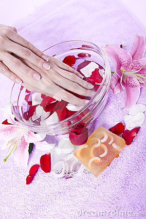 Hand care with Aromatherapy