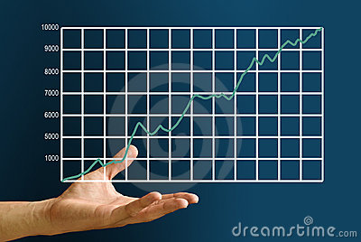 Hand carry the stock market s graph