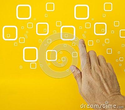 Hand choosing option