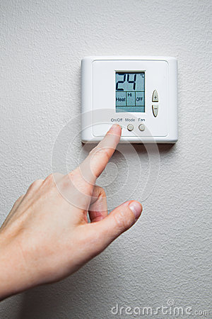 Hand with climate control