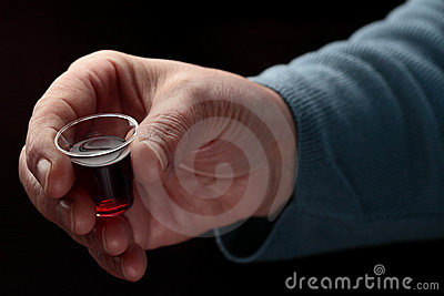 Hand with Communion Cup